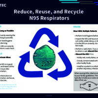 Reduce, Reuse, and Recycle N95 Respirators