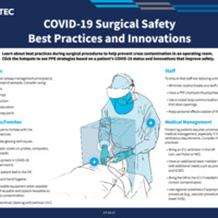 COVID-19 Surgical Safety Best Practices and Innovations