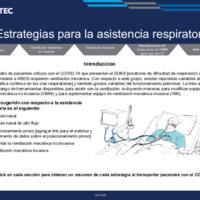 Estrategias para la asistencia respiratoria