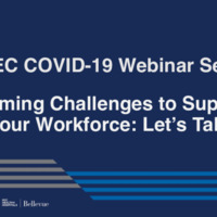 NETEC COVID-19 Webinar Series (04/30/21)/Online Course: Overcoming Challenges to Supporting Your Workforce: Let's Talk