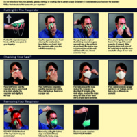 How to Properly Put on and Take off a Disposable Respirator