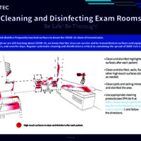 Cleaning and Disinfecting Exam Rooms