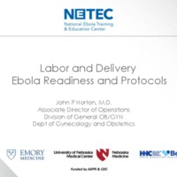 Labor and Delivery Ebola Readiness and Protocols