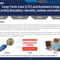 Long-Term Care (LTC) and Assisted Living Facility Biosafety: Identify, Isolate and Inform