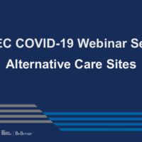NETEC COVID-19 Webinar Series (12/18/20): Alternative Care Sites