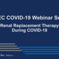 NETEC COVID-19 Webinar Series (5/27/20): A Steep Curve: Managing the Surge of COVID-19 Patients Requiring Dialysis