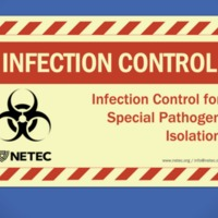NETEC - Online Course - Infection Control for Special Pathogen Isolation