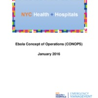 NYC Health + Hospitals Ebola Virus Disease Concept of Operations