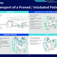 Transport of a Proned/Intubated Patient