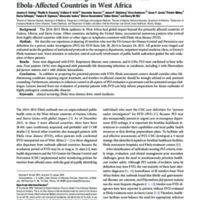 Ebola or Not? Evaluating the Ill Traveler From Ebola-Affected Countries in West Africa.