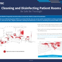 Cleaning and Disinfecting Patient Rooms