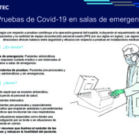 Pruebas de Covid-19 en salas de emergencia