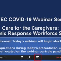 NETEC COVID-19 Webinar Series (4/6/20): Resilience and Care of the Caregiver Webinar