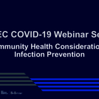 NETEC COVID-19 Webinar Series (10/28/20)/Online Course: Community Health Considerations: Infection Prevention