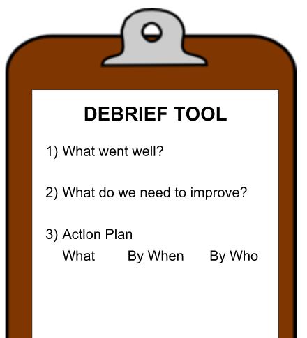Debriefing Tool