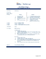 Training Session Agenda Q3