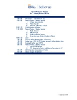 Training Session Agenda Q1
