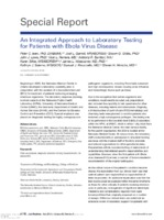 An integrated approach to laboratory testing for patients with Ebola virus disease