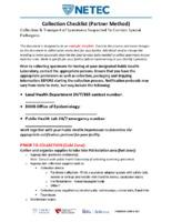 CollectionChecklistPartnerMethod.pdf