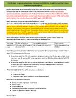 MERS-CoV Laboratory Protocol