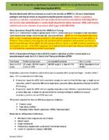 MERS-CoV ED Lab Protocol - Main Campus