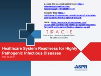 Healthcare System Readiness for Highly Pathogenic Infectious Diseases
